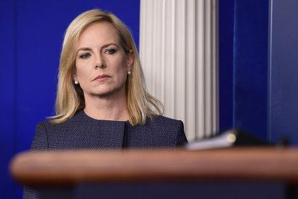 La secretaria de Seguridad Nacional Kirstjen Nielsen (AP /Susan Walsh)