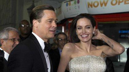 Angelina Jolie y Brad Pitt estuvieron juntos 12 años (REUTERS)