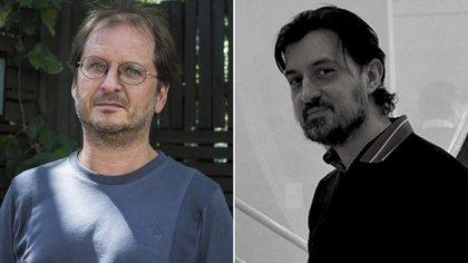 Martín Kohan y Alejandro Galliano