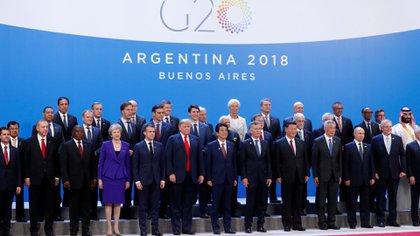Foto grupal de los líderes del G20. (Reuters)