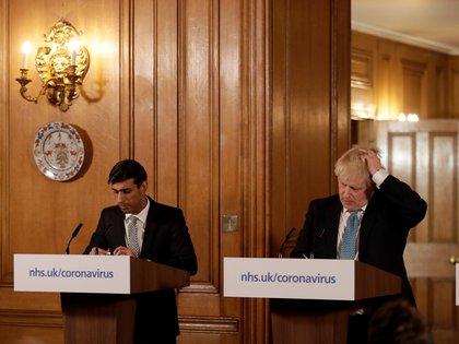 El Primer Ministro inglés, Boris Johnson, necesita un éxito para olvidar la desastrosa gestión de la crisis de covid, que ha provocado más de 70.000 muertes. REUTERS