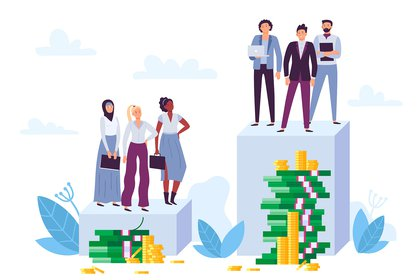 El Foro Económico Mundial estima que llevará 202 años cerrar la brecha salarial de género mundial, sobre la base de la tendencia observada en los últimos 12 años. En posiciones de gestión y liderazgo, según la OIT, en la Argentina la diferencia salarial es de 29 por ciento (Shutterstock).