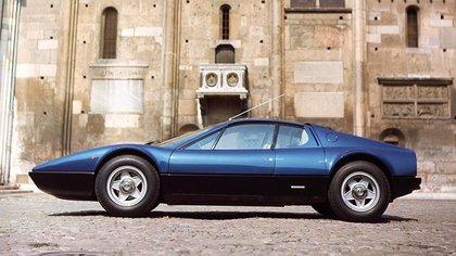 La primera Berinetta Boxer, de 1973, tenía un motor de 380 caballos, el más potente de la serie. (Ferrari)