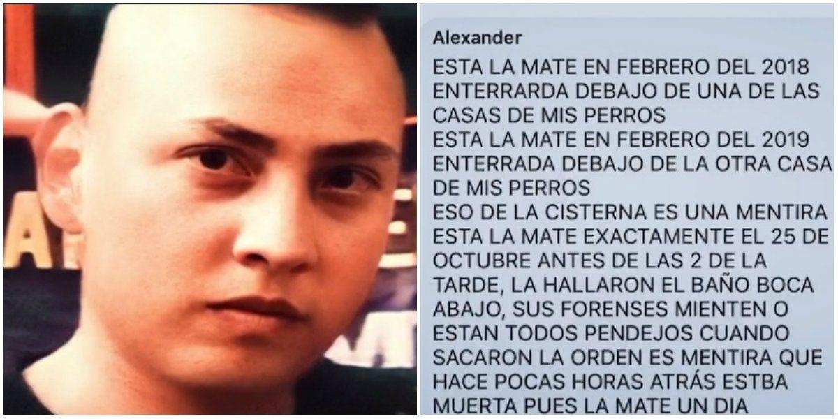 Óscar García Guzmán envió algunos mensajes para advertir que seguiría matando mujeres. (Foto: Archivo)