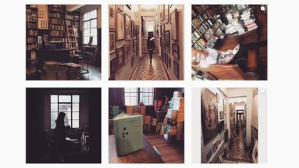 Captura perfil de Instagram (@libreriamerlinoficial)
