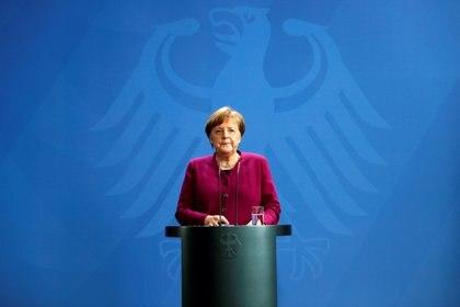 Angela Merkel (Markus Schreiber/ Pool vía Reuters/ File Photo)