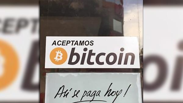 Varios lugares aceptan bitcoin como medio de pago