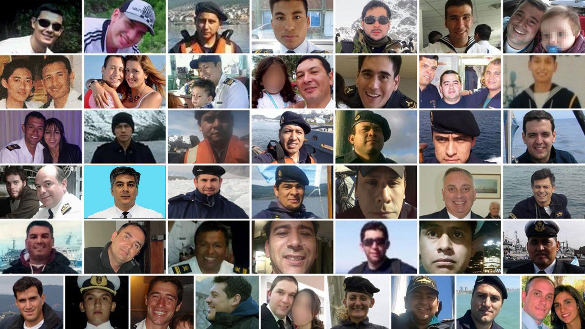 44 Tripulantes ARA San Juan