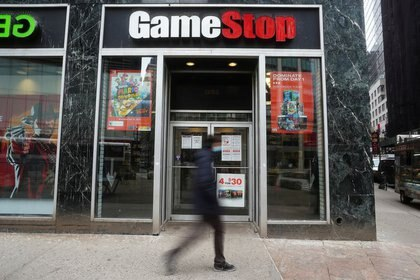 Un local de GameStop store en Manhattan (REUTERS/Carlo Allegri)