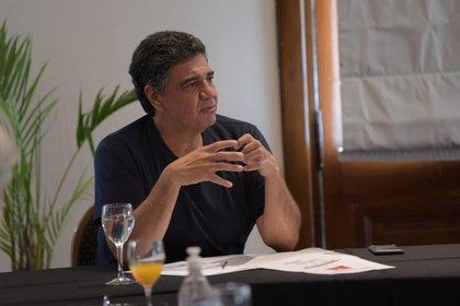 El jefe comunal Jorge Macri sostuvo que el esfuerzo está financiado con ahorros que generó el municipio y de una tasa que le cobran a los bancos e hipermercados mientras dure la pandemia.