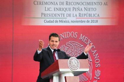 La periodista tuvo diferencias con el ex presidente EPN por el caso conocido como la Casa Blanca FOTO: DIEGO SIMÓN SÁNCHEZ /CUARTOSCURO.COM