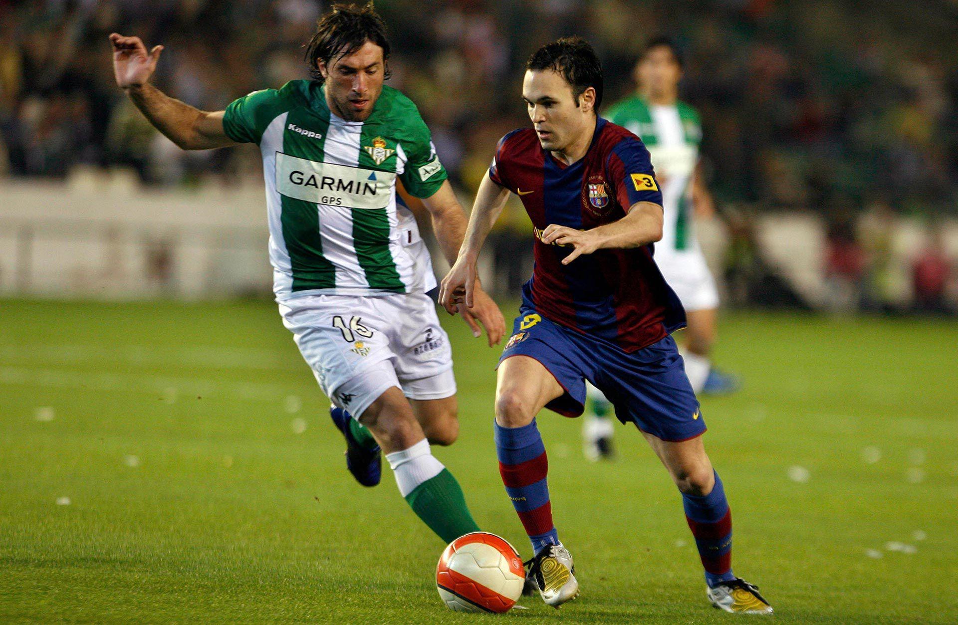 Mariano Pavone Betis - Iniesta Barcelona