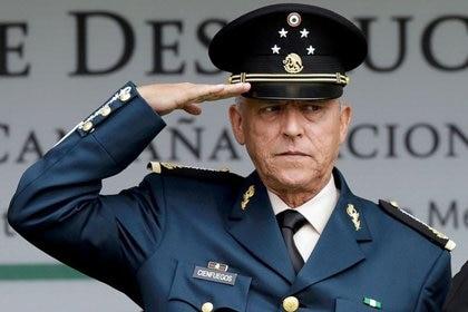FOTO DE ARCHIVO. El exsecretario de Defensa mexicano Salvador Cienfuegos durante un evento en una zona militar en Ciudad de México. 2 de septiembre de 2016. REUTERS / Henry Romero