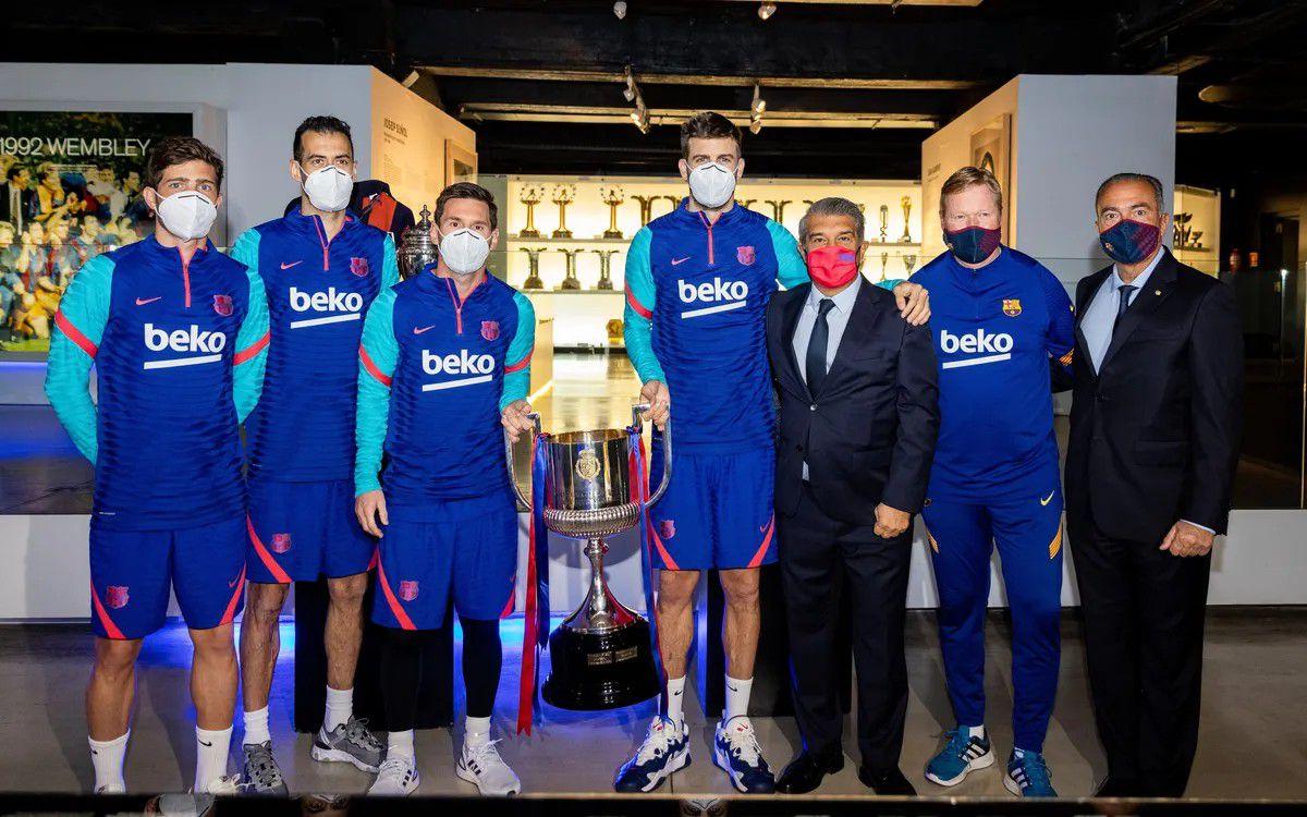 Messi habló con Laporta