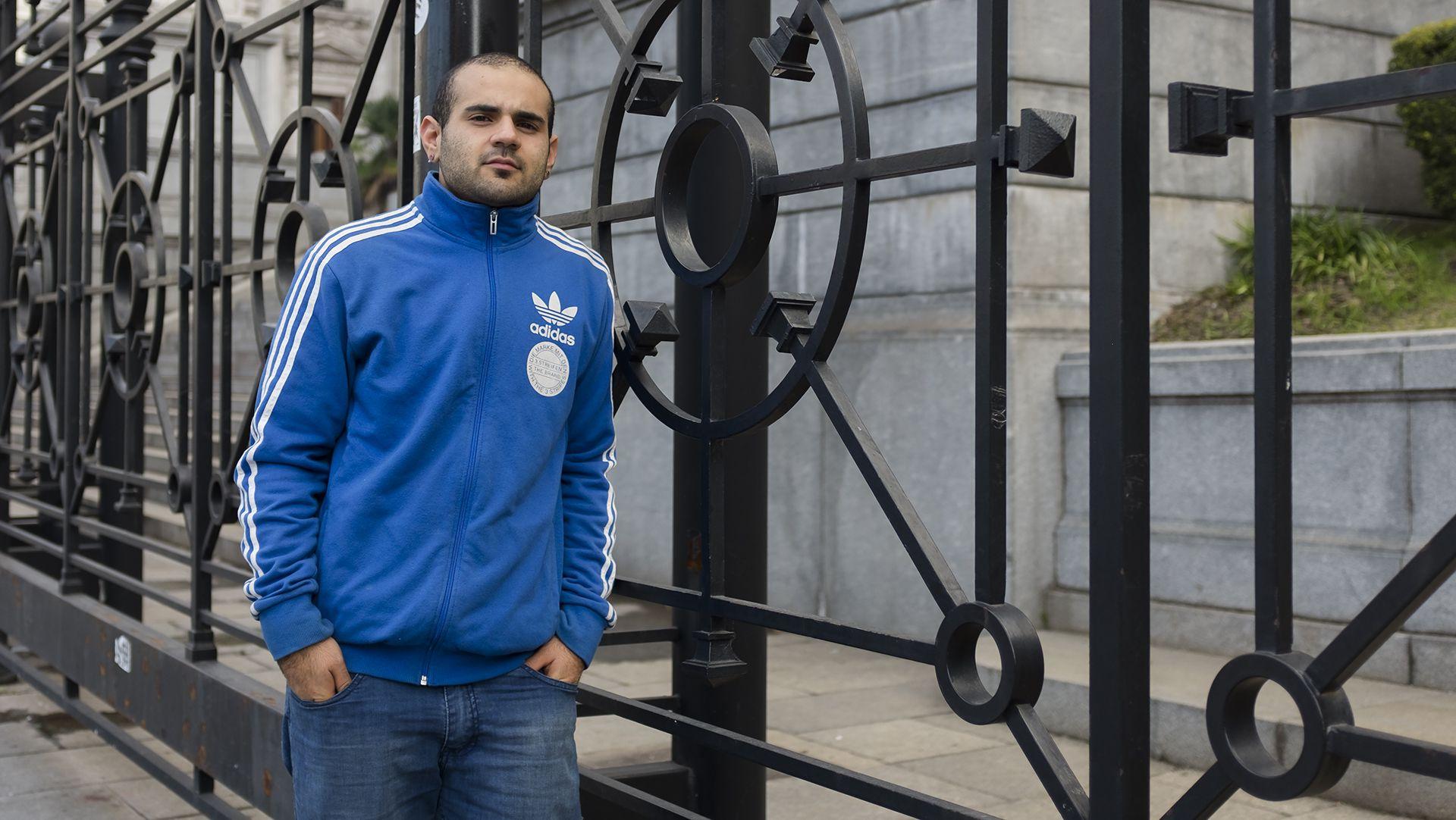 Diego Watkins es un joven trans, activista por los Derechos Humanos y promotor de salud (Adrián Escandar)