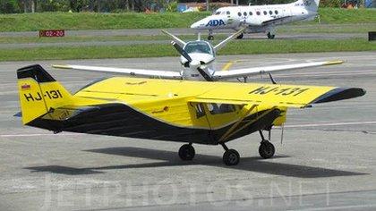 La aeronave en cuestión. Foto: JetPhotos