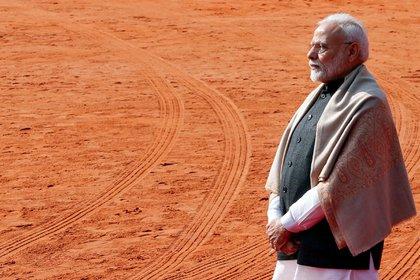 El primer ministro de India, Narendra Modi. Foto: REUTERS/Altaf Hussain