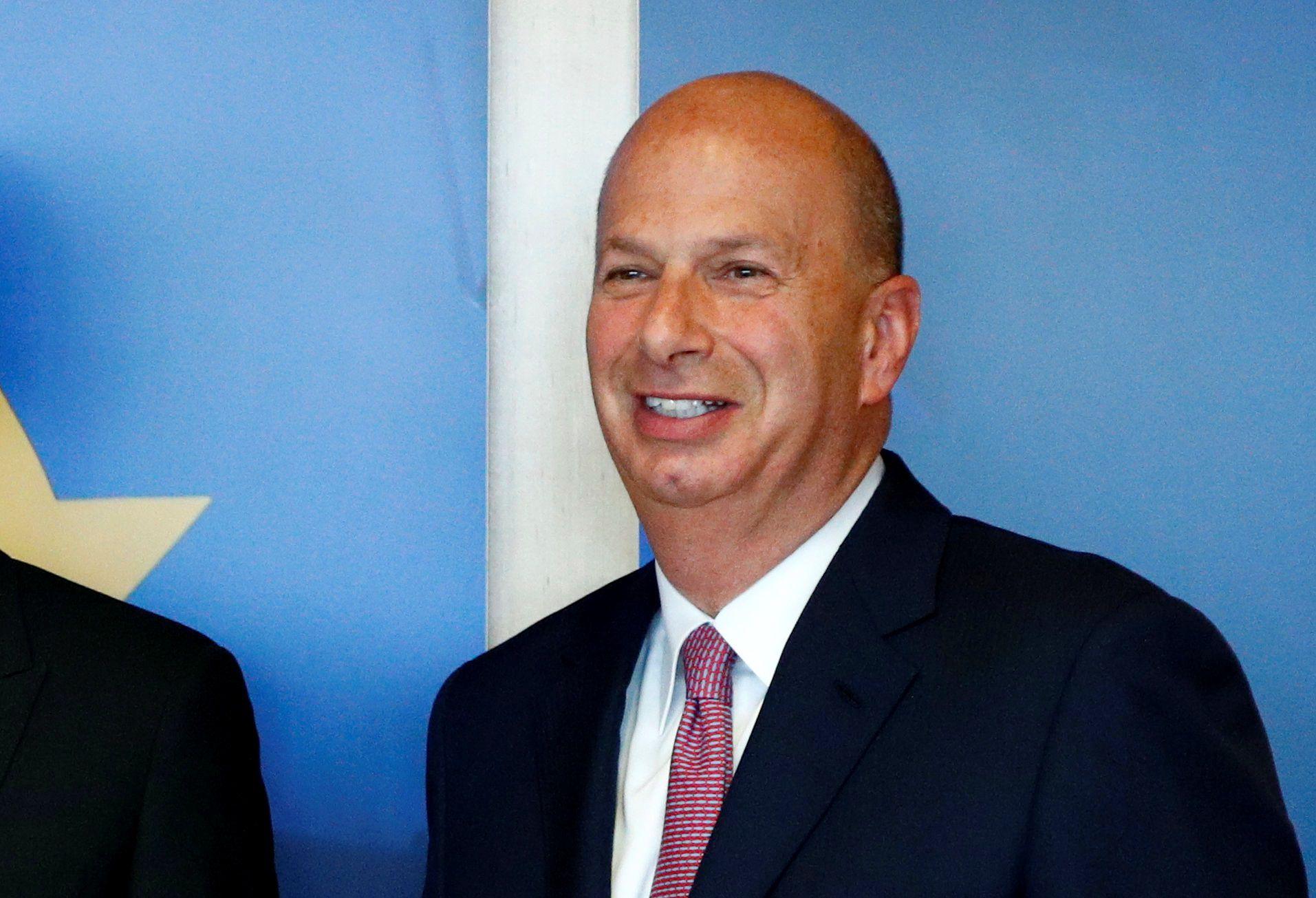 Gordon Sondland, embajador de EEUU ante la Unión Europea (REUTERS/Francois Lenoir)