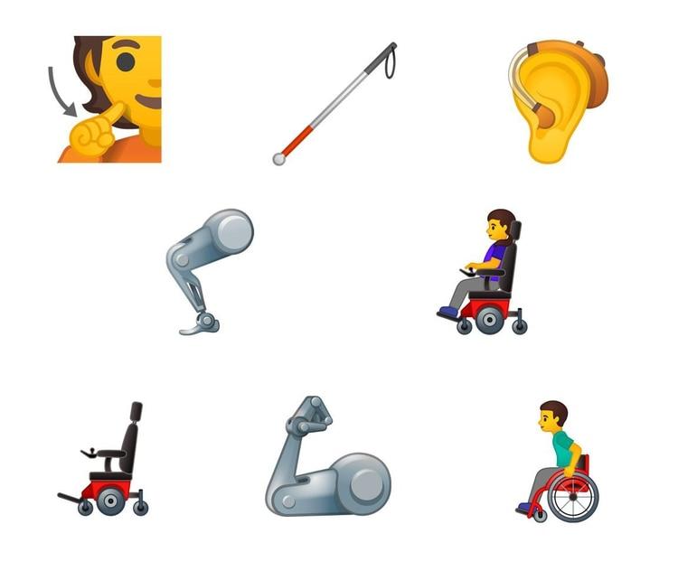 En esta nueva actualización también se integrarán dibujos orientados a la inclusión social. (Foto: Emojipedia)