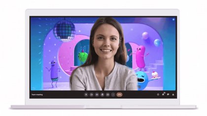 El servicio de videollamadas Google Meet anunció nuevas funciones como el ajuste automático para que la persona aparezca en el centro de la imagen y los fondos en movimiento