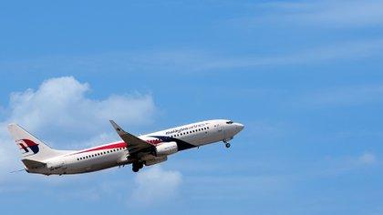 Un avión similar al del misteriosa MH 370 (Shutterstock)