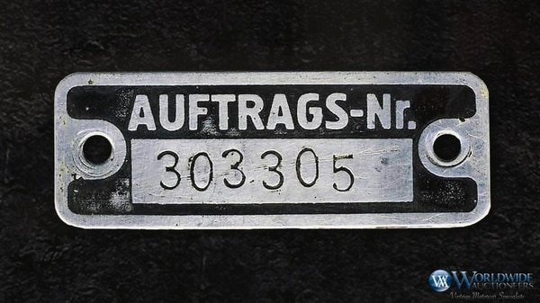 """""""Comisión número 303 305, Grosser Mercedes, automóvil abierto W150 para el Führer y el Reich Chancellor, cuarto Führer-car"""", rezaba el pedido de compra"""