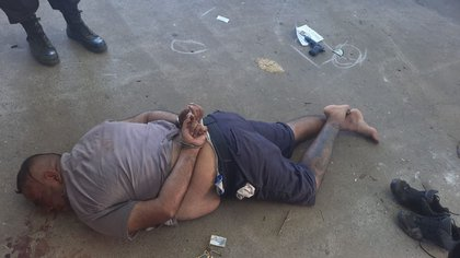 El policía detenido