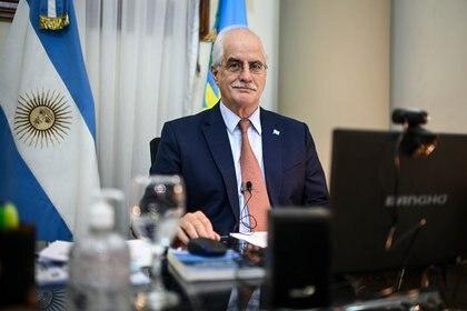 El senador Jorge Taiana