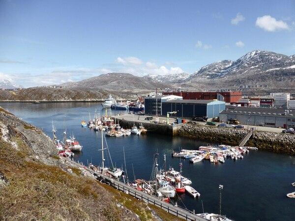 El puerto de Nuuk, la capital (Reuters)