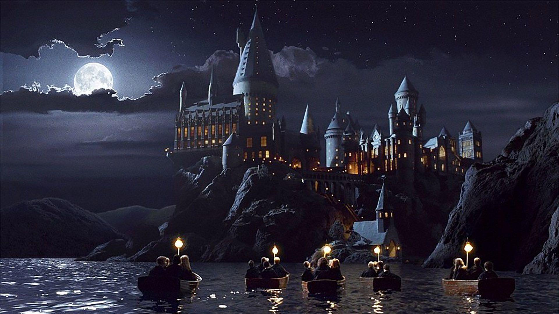 El colegio de Hogwarts de magia y hechicería