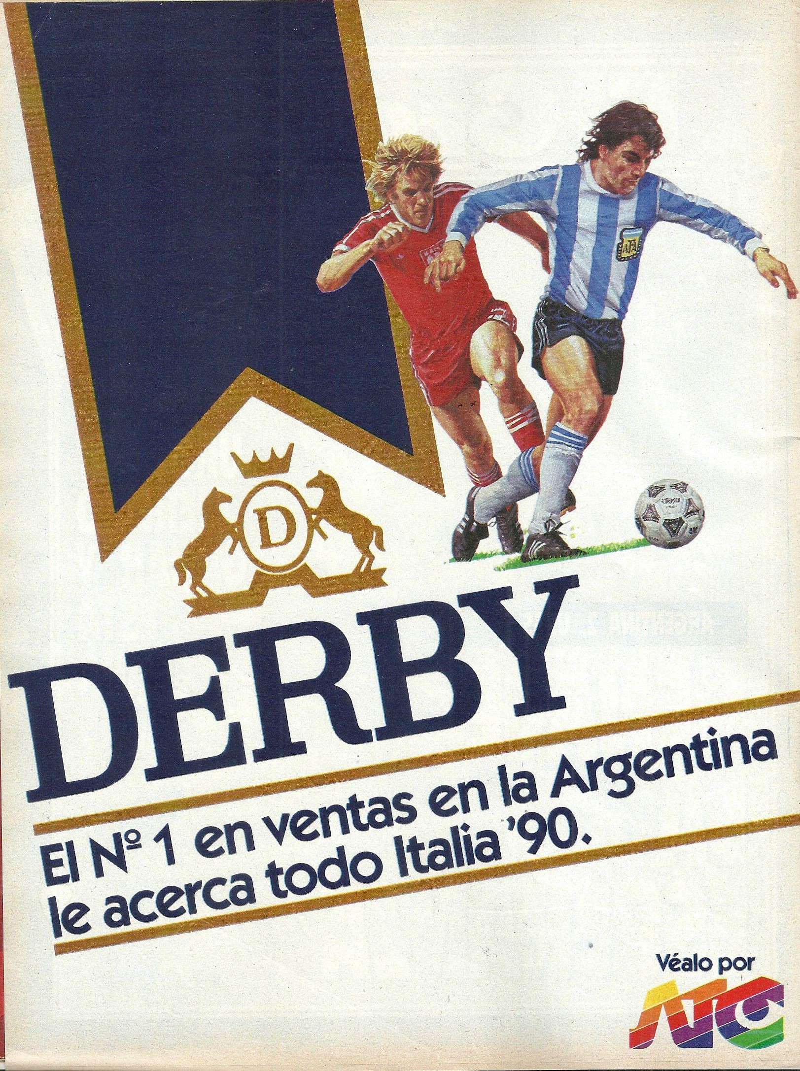 el momento en el que Argentina pasa a la final de Italia 90 en el estudio de ATC