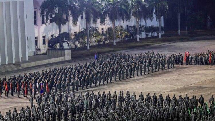Soldados venezolanos (@PrensaFANB)