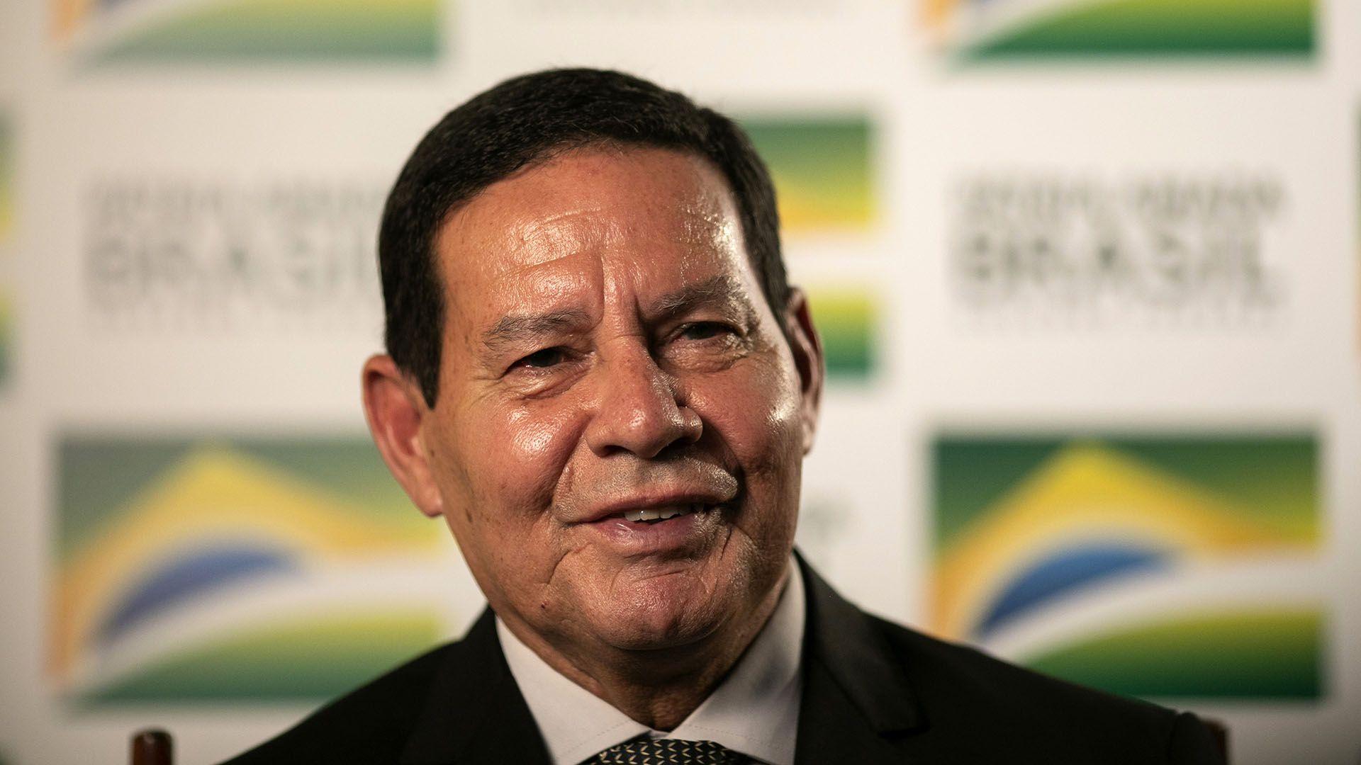 Hamilton Mourao, vicepresidente de Brasil