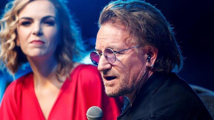 Bono pidió crear mayor conciencia sobre el problema del VIH (Foto: Efe)
