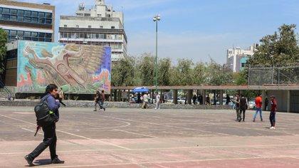 La UNAM canceló clases presenciales gradualmente. (Foto: Cuartoscuro)