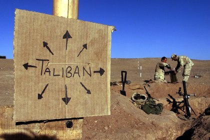 Tropas estadounidenses en Afganistán en 2001. REUTERS/Jim Hollander
