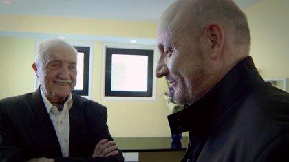Al maestro, con cariño: José Martínez Suárez, con Juan José Campanella
