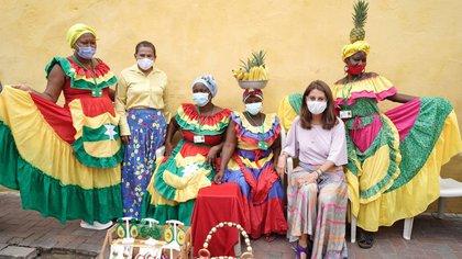La Ruta de la Mujer Emprendedora fortalecerá a artesanas, palenqueras y vendedoras del Centro Histórico de Cartagena