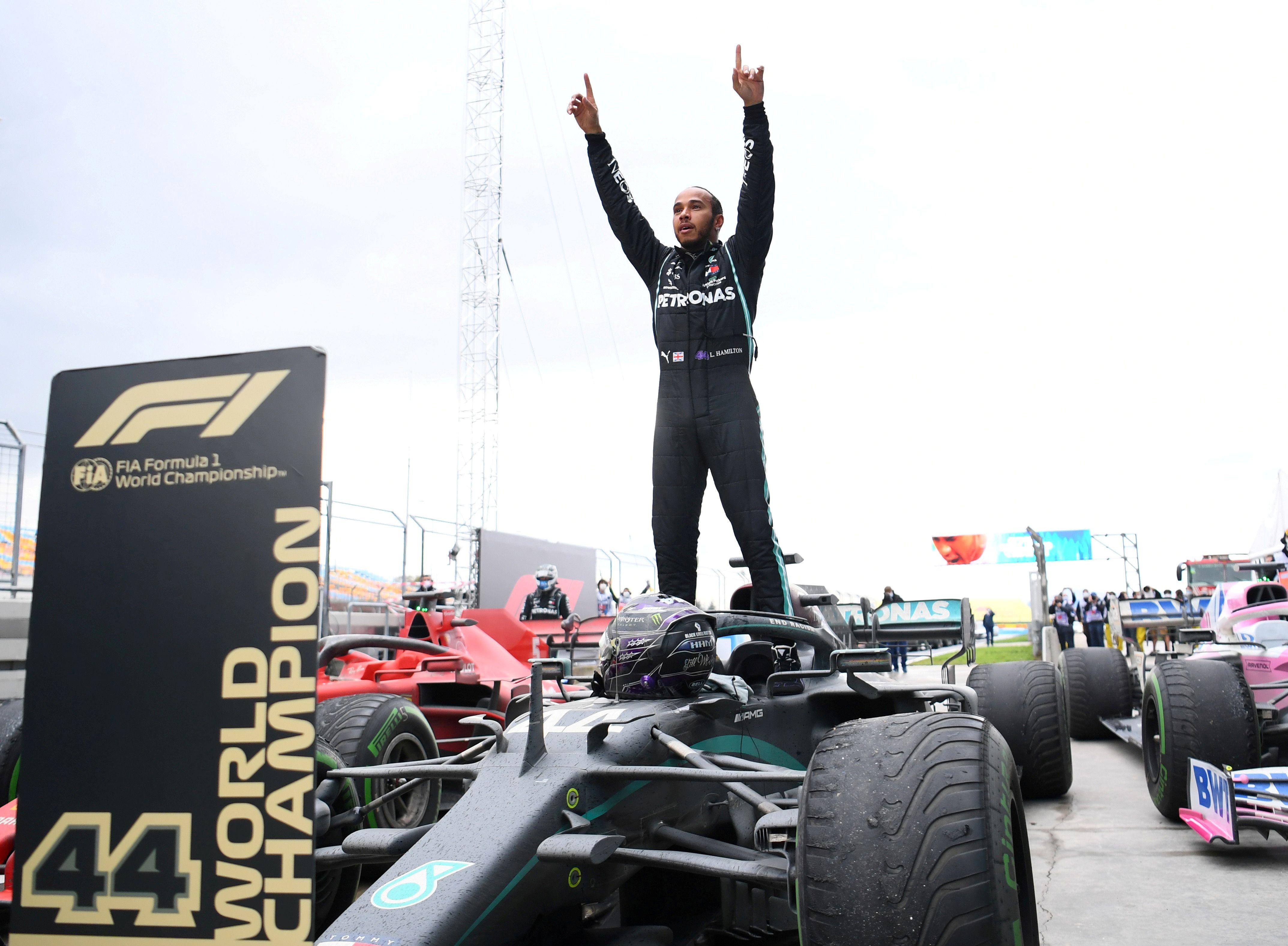 Lewis Hamilton buscará su octavo título en la Fórmula 1 (Reuters)