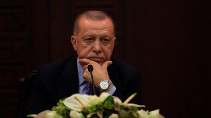 El presidente Recep Tayyip Erdogan. EFE/EPA/ERDEM SAHIN/Archivo