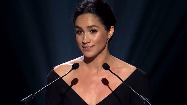 La actriz se convirtió en activista feminista luchando por la igualdad de género y brindó un emotivo discurso