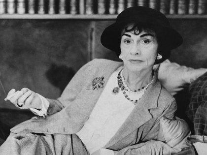 Coco Chanel, la diseñadora francesa ícono de moda (Getty Images)