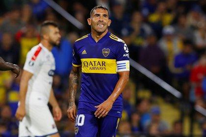 Carlos Tevez aseguró que quiere renovar su contrato con Boca (REUTERS/Agustin Marcarian)
