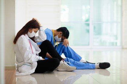 Entre las mayores preocupaciones del personal sanitario se encuentran la propia salud y el miedo al contagio propio y de los compañeros de trabajo