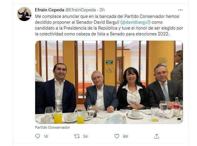 Cepeda / Twitter
