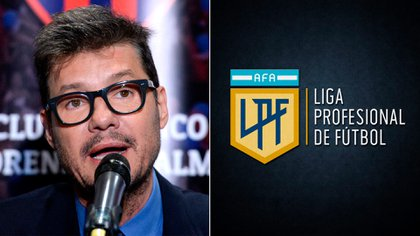 El presidente de San Lorenzo, Marcelo Tinelli, estará al frente de la Liga Profeisonal