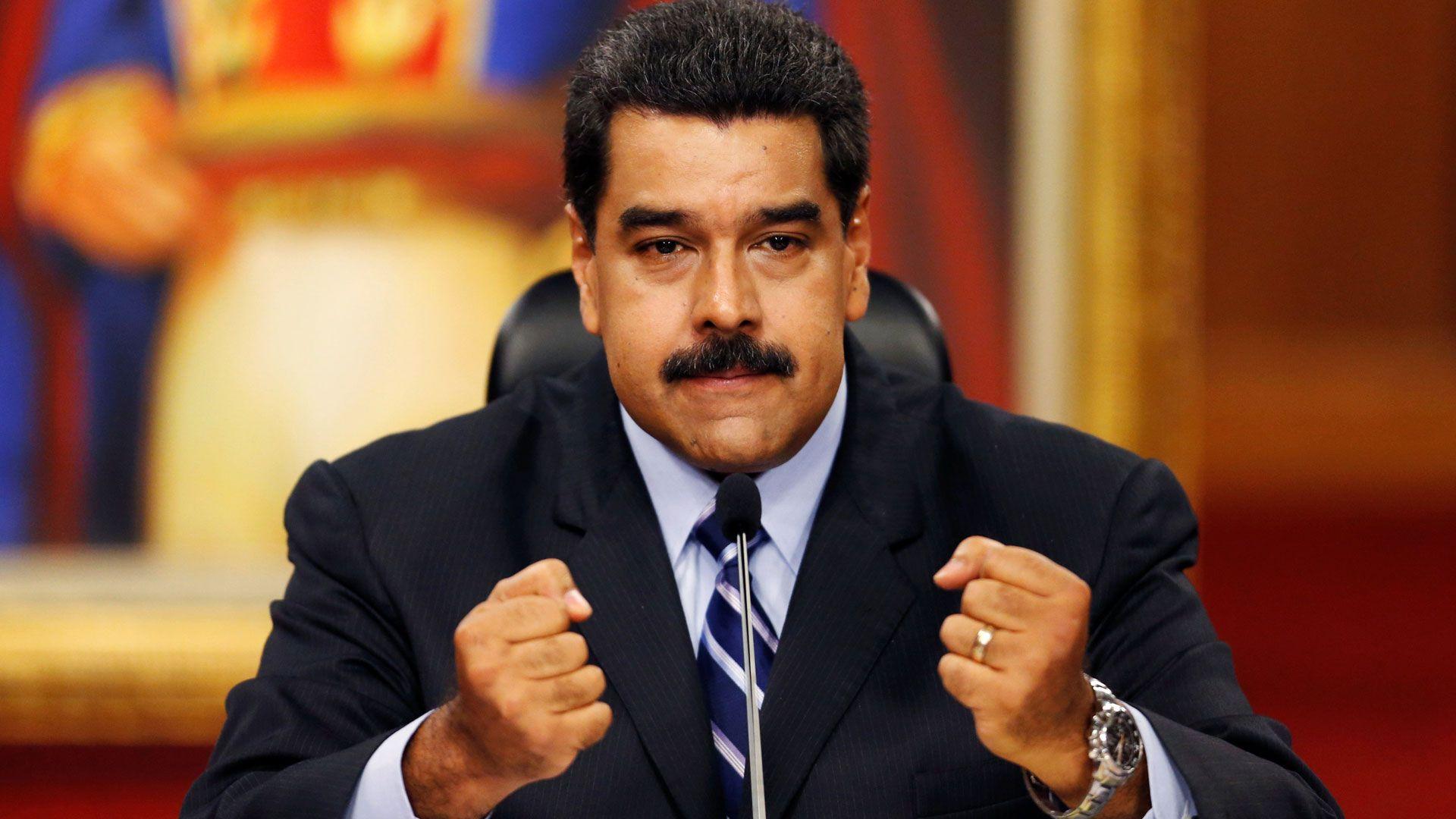Nicolás Maduro, cada vez más presionado (Reuters)
