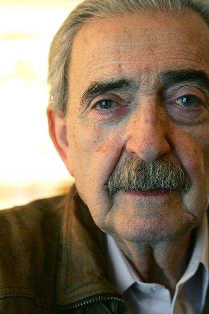 El poeta argentino Juan Gelman,ganador del premio Cervantes 2007, falleció a los 83años en Ciudad de México, donde se había instaladi hacía más de dos décadas (AFP)