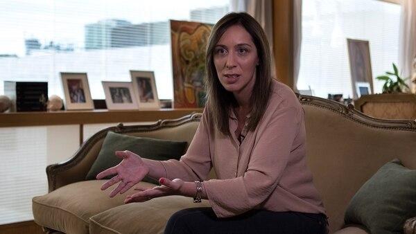 María Eugenia Vidal (Adrián Escandar)