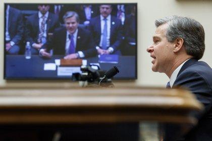 En la imagen el director del FBI, Christopher Wray. EFE/EPA/SHAWN THEW/Archivo